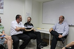 Wikipedian Meetup with Jan-Bart de Vreede, Israel 2014 IMG 9407.JPG