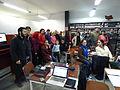 Wikipedistas trabajando en el Editatón 'Wikipedia ama el cine' 18.JPG