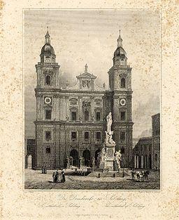 Wilhelm Knocke Domkirche in Salzburg ubs G 0540 II