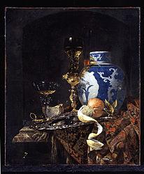 Willem Kalf: Still Life with a Chinese Porcelain Jar