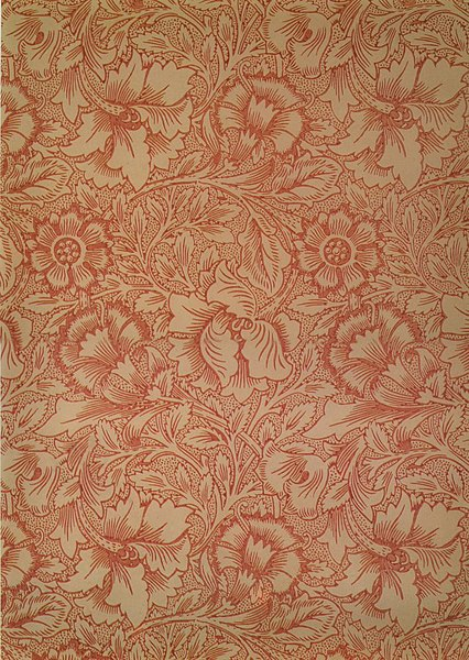 Bestand:WilliamMorris-Pink-and-poppy-wallpaper-1881.jpg