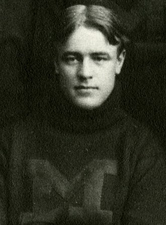 Michigan–Notre Dame football rivalry - William Caley scored three touchdowns against Notre Dame when the schools resumed the rivalry in 1898.