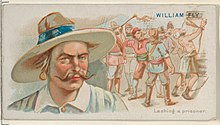 William Fly, Lashing a Prisoner, from the Pirates of the Spanish Main series (N19) for Allen & Ginter Cigarettes MET DP835026.jpg
