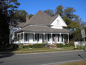 National Register of Historic Places listings in Berrien County, Georgia - Image: William G. Harrison House 4
