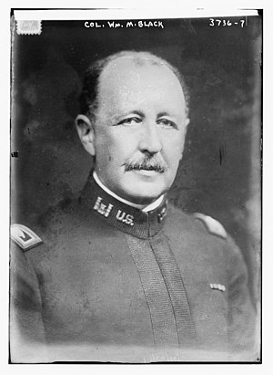 William Murray Black - Major General William Murray Black, Chief of Engineers 1916–1919