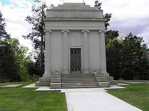 William Rockefeller - The mausoleum of William Rockefeller in Sleepy Hollow Cemetery