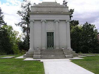 William Rockefeller - The mausoleum of William Rockefeller in Sleepy Hollow Cemetery