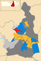 Wokingham Borough Council UK local election 2019 map.png