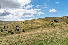 Wolfsberg Lading Wanderweg 308 Landschaft NO vom Großen Sauofen 03092019 7146.jpg