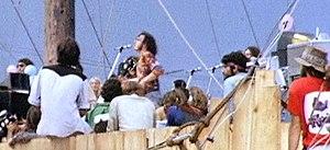 Joe Cocker and the Grease Band performing at W...
