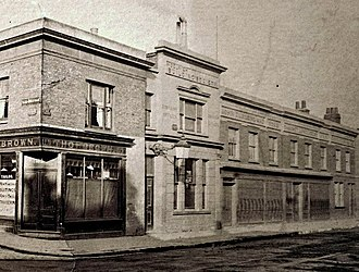The Woolwich - Image: Woolwich, Powis St Eleanor Rd, 1895 (cropped)