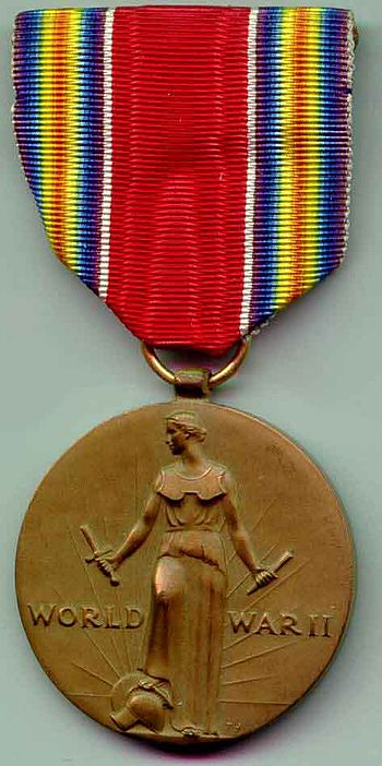 World War II Victory Medal.