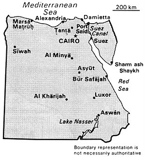 World Factbook (1990) Egypt.jpg