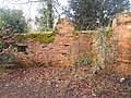 World War II field artillery emplacement, west end of Waverley Mill Bridge 06.jpg