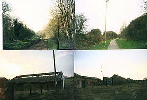 Oxfordshire Ironstone Railway - Image: Wroxton mine relics 1