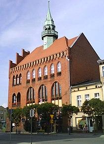 Wrzesnia Wreschen Ratusz Rathaus.jpg