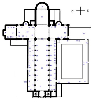 Würzburg Cathedral - Floor plan