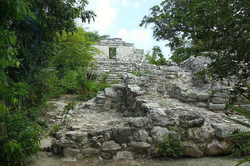 File:Xcaret Mayan Ruins.jpg
