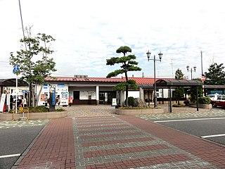 Yamoto Station Railway station in Higashimatsushima, Miyagi Prefecture, Japan