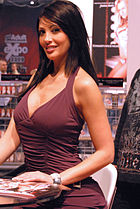 Yasmine Lafitte at AVN Adult Entertainment Expo 2009