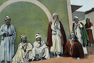 Yazidis - Yazidi men in Mardin, Turkey, late 19th century