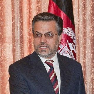 Afghan politician