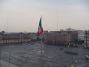 zocalo de la ciudad de México
