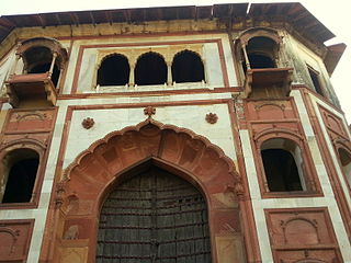 Zafar Mahal (Mehrauli) building in India