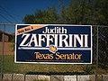Zaffirini campaign sign IMG 1805.JPG