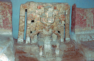 El Zapotal Pre-Columbian ceremonial site in central Veracruz, Mexico