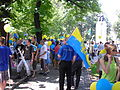 Zbiorka na Placu Wolnosci w Katowicach przed wymarszem IV Marszu Autonomii.jpg