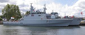 HDMS Flyvefisken (P550) - Image: Zemaitis 6448