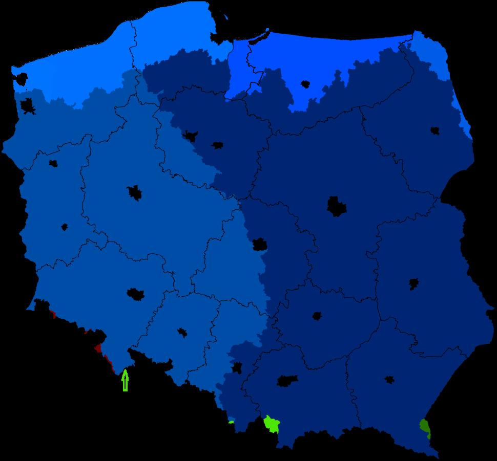 Zlewiska-Zlewnie Polski