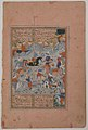 """""""A Contest of Skill in Archery on Horseback"""", Folio from a Divan (Collected Works) of Mir 'Ali Shir Nava'i MET sf13-228-21-f15-r.jpg"""