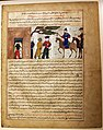 """Captured Indian Raja Brought to Sultan Mahmud of Ghazni"", Folio from a Majma al-Tavarikh (World Histories) MET AD-37.193a.jpeg"