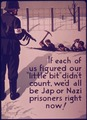 """""""If each of us figured our 'little bit' didn't count, we'd all be Jap or Nazi prisoners right now"""" - NARA - 514575.tif"""
