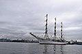 """Nadezhda"" frigate at Eastern Bosphorus strait (22063063776).jpg"