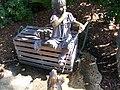 """The Grove"" Girl with Dog Statue - panoramio.jpg"