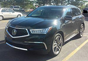 Acura MDX - Image: '17 Acura MDX