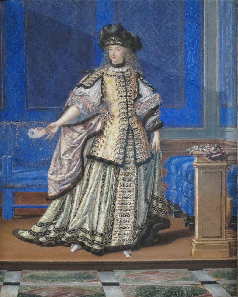'Мадемуазель де ла отзывам в отзывам vallière костюм' Джозеф Вернер, Нортона Museum.JPG Саймона