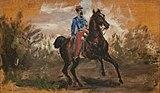 (Albi) Chasseur à cheval - Toulouse-Lautrec - Musée Toulouse-Lautrec d'Albi.jpg