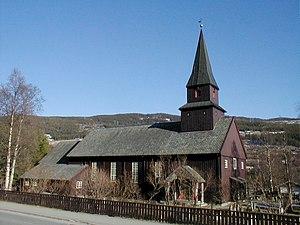 Ål - Image: Ål kyrkje, TFT