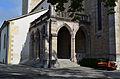 Église réformée Saint-Martin de Vevey - 03 - péristyle néogothique vu du sud-est.jpg