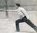 Émile Ayat, double champion olympique à l'épée en 1900.jpg