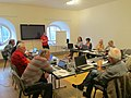 Účastníci Seniorského Wikiměsta Broumov 2018 08.jpg