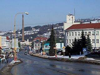 Čadca Town in Slovakia