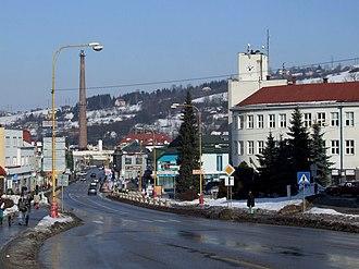 Čadca - Čadca - town center
