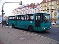 Českomoravská, autobus autoškoly.jpg