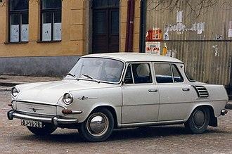 Škoda 1000 MB - Image: Škoda 1000MB, Jihlava 1992