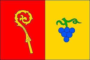 Šlapanice - Image: Šlapanice flag CZ